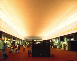 Central Concourse, Honolulu International Airport, 1981.