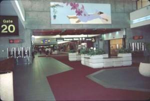 Central Concourse, Honolulu International Airport, 1987.