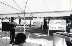 Groundbreaking Ceremony Diamond Head Extension, HNL, September 14, 1982