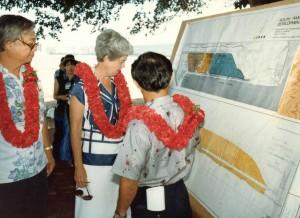 Groundbreaking South Ramp Development, HNL September 28, 1982
