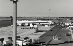 United Parcel Service at Honolulu International Airport, 1980s.