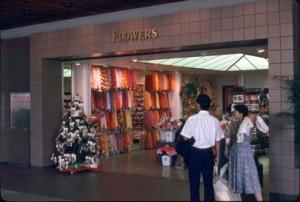 Flower Shop, Honolulu International Airport, 1987.