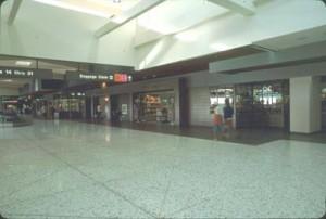 Concessions, Honolulu International Airport, 1987.