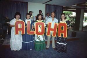 Aloha Friday, Honolulu International Airport, 1989.