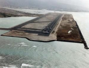 Reef Runway, Honolulu International Airport, 1980s.