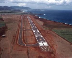 Lihue Airport Runway, Kauai, 1984.