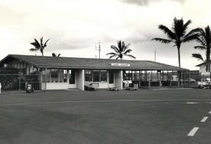 Lanai Airport, Hawaii, 1980s.