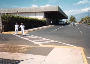 Kahului Airport August 11, 1982