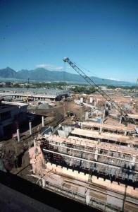 Kahului Airport construction December 1989