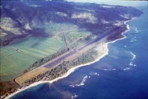 Dillingham Airfield, Oahu, 1983.