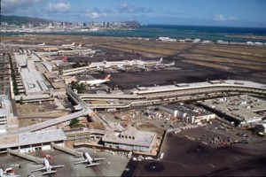 Honolulu International Airport, 1995.