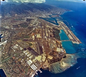 Honolulu International Airport, January 31, 1995.