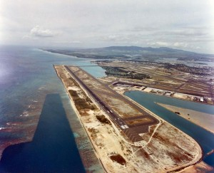 Honolulu International Airport, February 24, 1995.