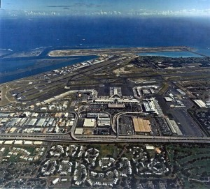 Honolulu International Airport, April 5, 1996.