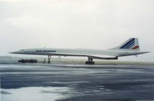 Air France Concord, Honolulu International Airport, 1993.