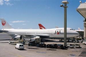 Japan Airlines, Honolulu International Airport, 1993.