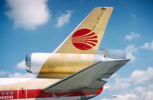 Continental Airlines, Honolulu International Airport, 1994.