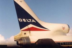 Delta Airlines, Honolulu International Airport, 1994.