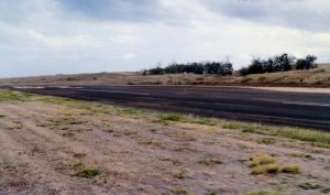 Upolu Airport Runway, Hawaii, April 8, 1992.