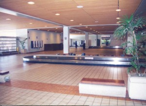 Baggage Claim, Commuter Terminal, Honolulu International Airport, 1995.