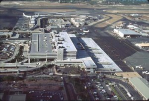 Interisland Terminal, Honolulu International Airport, January 1993.
