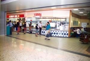 Food Court, Interisland Terminal, Honolulu International Airport, 1995.