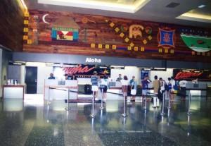 Ticket Lobby, Interisland Terminal, Honolulu International Airport, 1995.