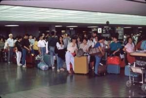 International Arrivals Building, Honolulu International Airport, 1990.