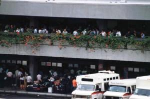 International Arrivals Group Tour Area, HNL, 1993