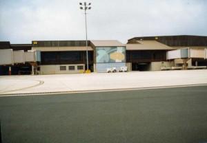 Lihue Airport Terminal, Kauai, March 27, 1991.