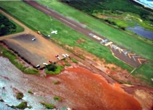 Port Allen Airport, Kauai, May 27, 1991.