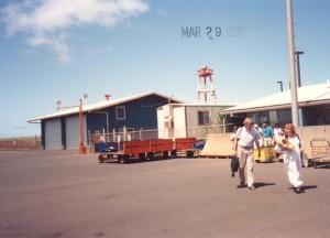 Lanai Airport March 29, 1992