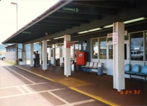 Lanai Airport, Hawaii, June 24, 1992.