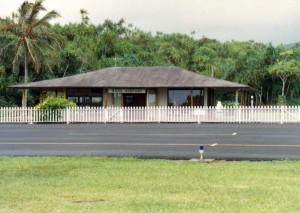 Hana Airport, April 15, 1992.