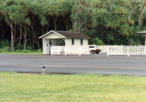 Hana Airport ARFF Station, Maui, September 20, 1990.
