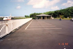 Hana Airport, Hawaii, April 15, 1992.