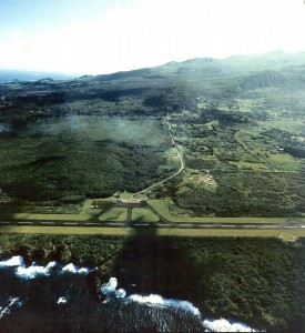 Hana Airport, Maui, January 26, 1993.