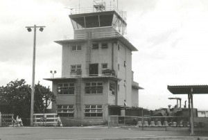 Old Federal Aviation Administration Tower, Kahului Airport, 1990s.