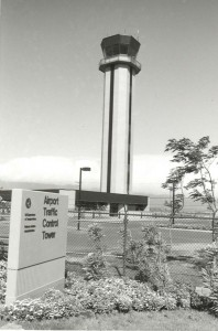 New Federal Aviation Administration Tower, Kahului Airport, 1990s.