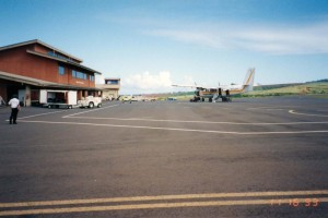 Kapalua West Maui Airport, Hawaii, November 16, 1993.