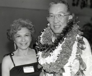 Nona Akana, Secretary to Owen Miyamoto, Airports Administrator, Hawaii Department of Transportation.