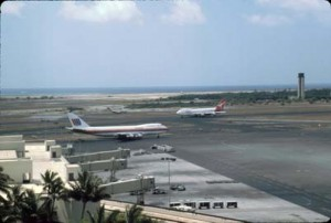 Honolulu International Airport, 1991.