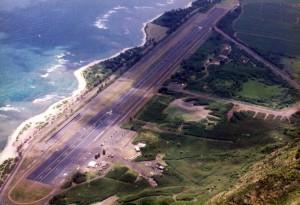 Dillingham Field, Oahu, 1990.