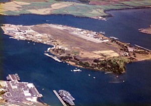 Ford Island, Pearl Harbor, Oahu, 1990.