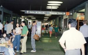 Honolulu International Airport, 1990.