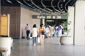 Overseas Terminal, Honolulu International Airport, 1993.