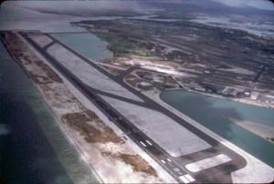 Reef Runway, Honolulu International Airport, 1990s.