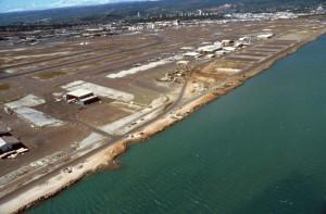South Ramp aviation facilities, Honolulu International Airport, 1991.