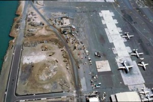 South Ramp, Honolulu International Airport, 1991.