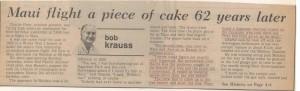 Reprinted from the Honolulu Advertiser June 21, 1982.